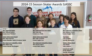2014-15 SJASSC Skater Awards on photo bckgr.